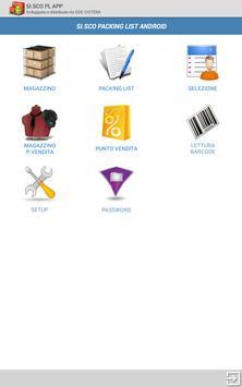 SI.SCO Packing LIST APP screenshot 8