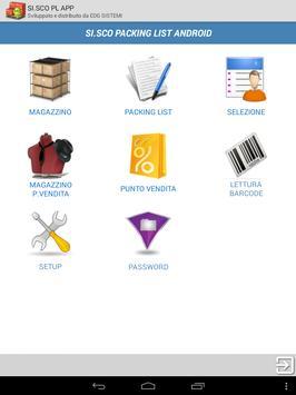 SI.SCO Packing LIST APP screenshot 16