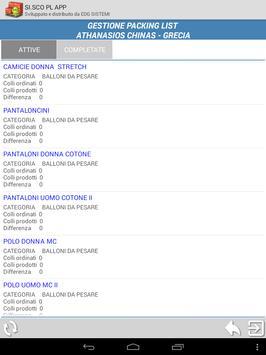 SI.SCO Packing LIST APP screenshot 23