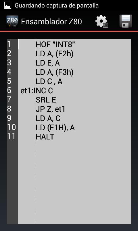 Ensamblador Z80 for Android - APK Download