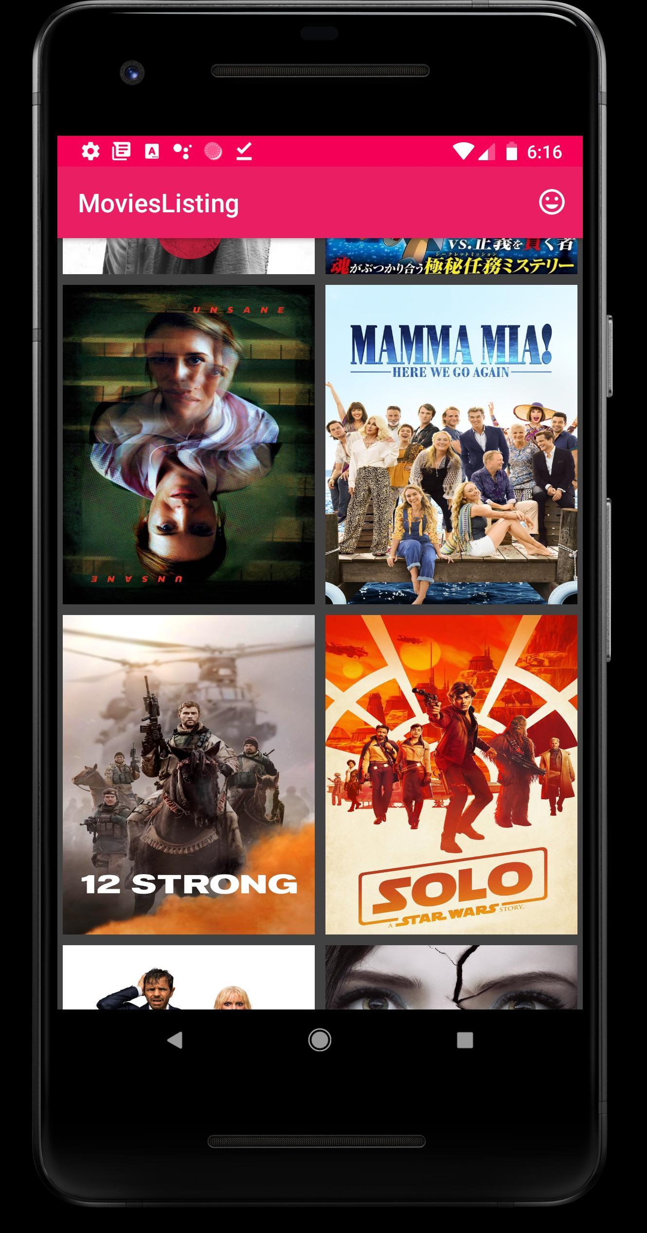 MoviesListing poster