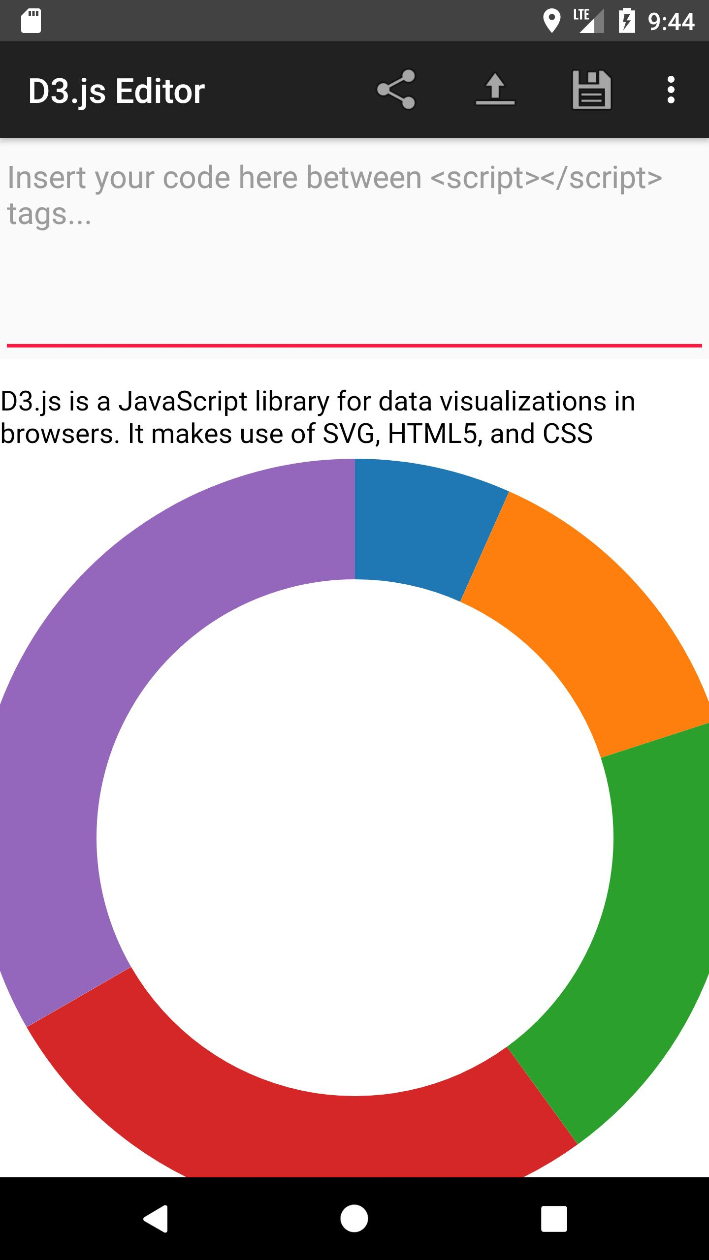 D3 js Editor for Android - APK Download