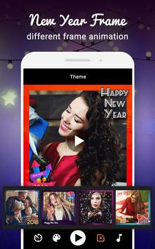New Year Video Maker screenshot 1