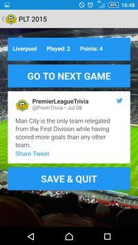 Premier League Trivia 15 Free apk screenshot