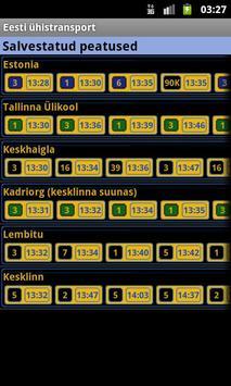 Eesti ühistransport screenshot 1