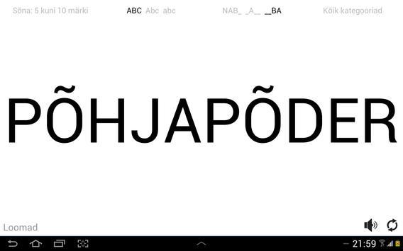 Sõnastaja screenshot 3