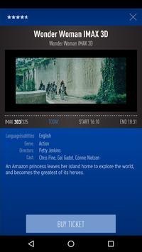 Cinamon Kosmos IMAX screenshot 1