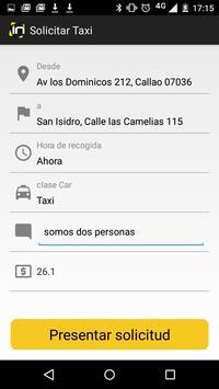 In Taxi screenshot 1