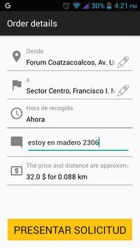 TAXI EN LINEA MX screenshot 1