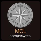 MCL coordinates icon