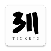 311 Tickets for organizers icon