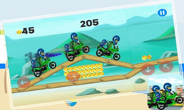 New pj motorbike mask pro apk screenshot