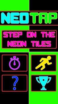 NeoTap: Neon Tile Tap Retro poster