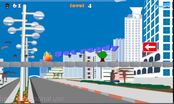 mr.bean jumping adventures screenshot 1