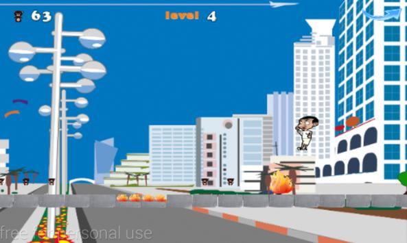 mr.bean jumping adventures screenshot 2