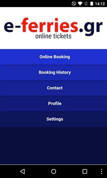Ferry Tickets E-ferries.gr poster