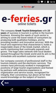 Ferry Tickets E-ferries.gr apk screenshot