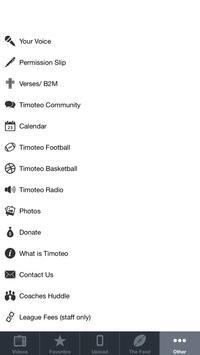 Timoteo Sports screenshot 1