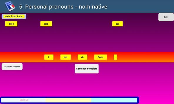 French Grammar Exercises F screenshot 7