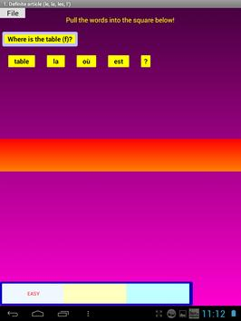 French Grammar Exercises F screenshot 9