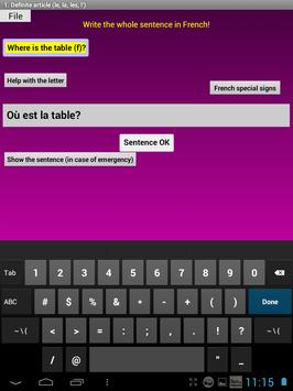 French Grammar Exercises F screenshot 11