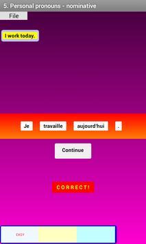 French Grammar Exercises F screenshot 2
