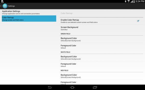 IBM HATS - Sample App apk screenshot