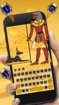 Egyptian Pharaoh Keyboard Theme poster