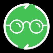 WhatStalk Pro Black Edition - Free Messaging icon