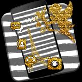 Eiffel Tower Gold Theme icon
