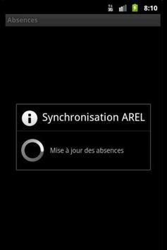 Absences EISTI AREL apk screenshot