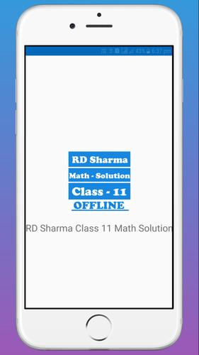 RD Sharma Class 11 Math Solution for Android - APK Download