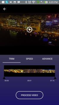 Slow Motion & Timelapse Video Editor - Speed Invid screenshot 1