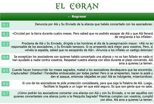 El Coran screenshot 8