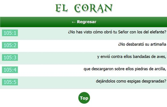 El Coran apk screenshot