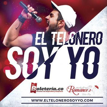 El Telonero Soy Yo poster