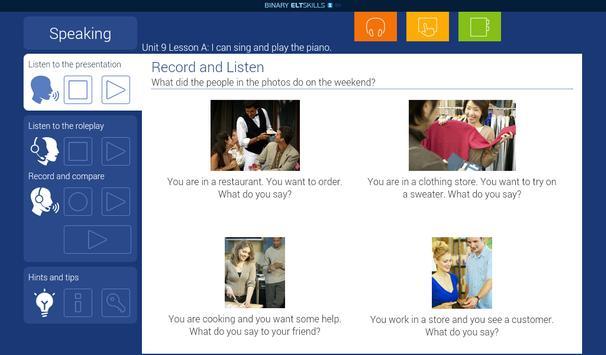 ELT Skills EH 3A apk screenshot