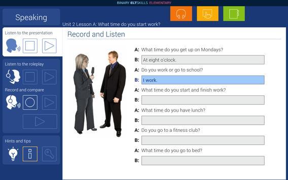 ELT Skills TTT Elementary B apk screenshot