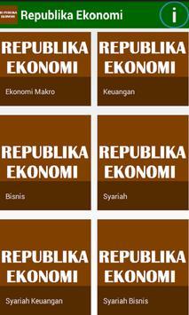 Republika Ekonomi poster
