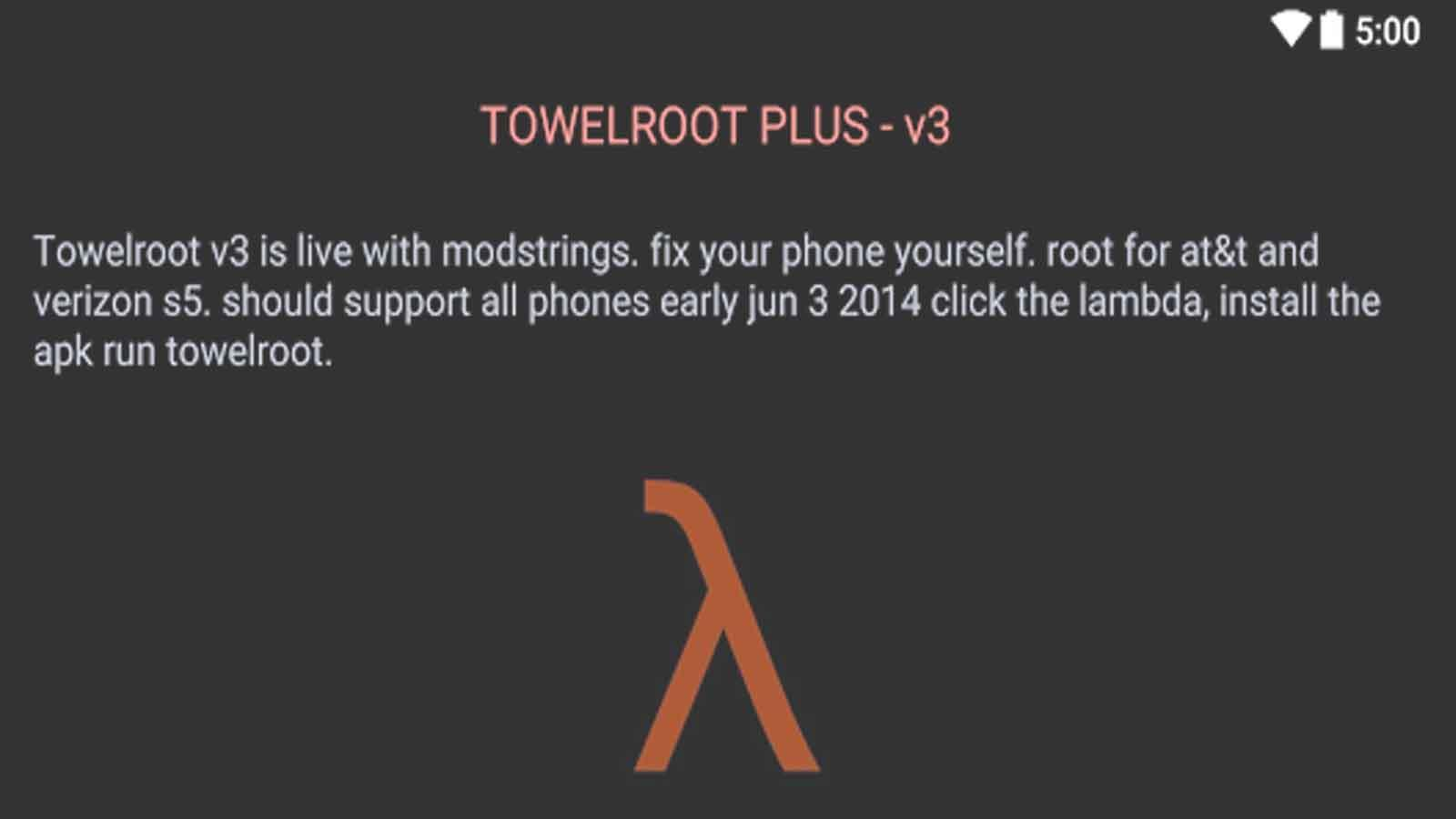 Towelroot for Android - APK Download