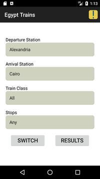 Egypt Trains capture d'écran 1