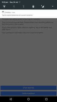 PokeMap for Pokemon Go apk screenshot