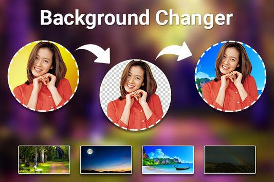 Background Changer : Cut Paste Photo Editor screenshot 2