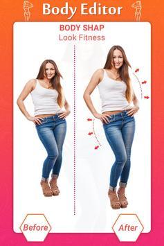Girl Body Shaper : Body Shape Editor(Body Slimmer) screenshot 3