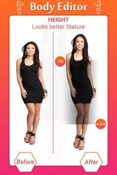 Girl Body Shaper : Body Shape Editor(Body Slimmer) screenshot 1