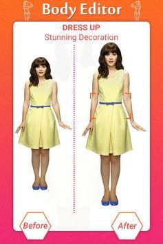 Girl Body Shaper : Body Shape Editor(Body Slimmer) screenshot 2