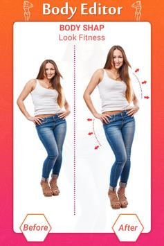 Girl Body Shaper : Body Shape Editor(Body Slimmer) screenshot 7