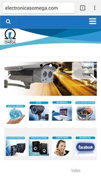 Omega CCTV poster