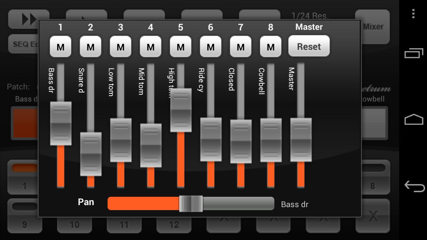 electrum drum machine demo apk download free music audio app for android. Black Bedroom Furniture Sets. Home Design Ideas