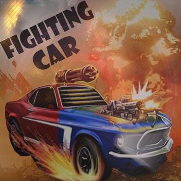 FIGHTING CAR poster